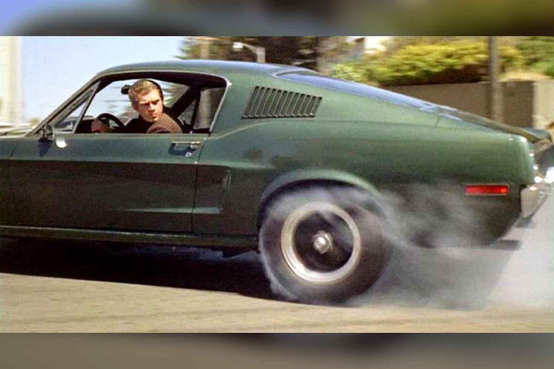 Bullitt (1968) — Steve McQueen and Mustang GT 390