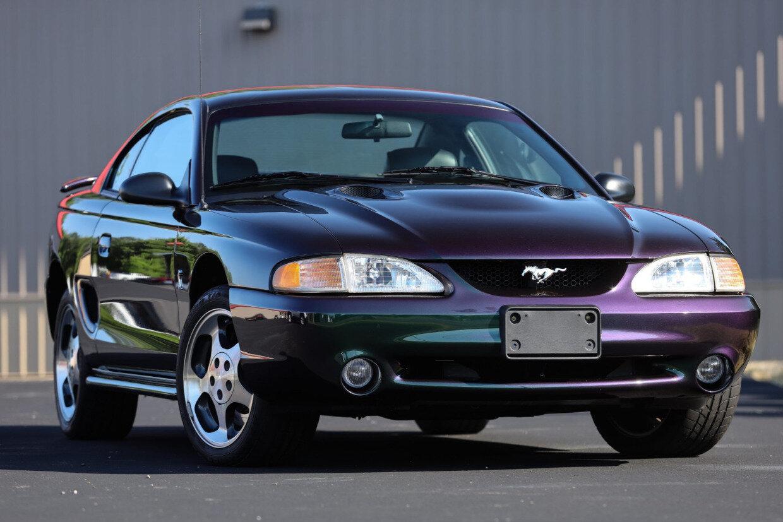 1996 Ford SVT Mustang Cobra in Mystic