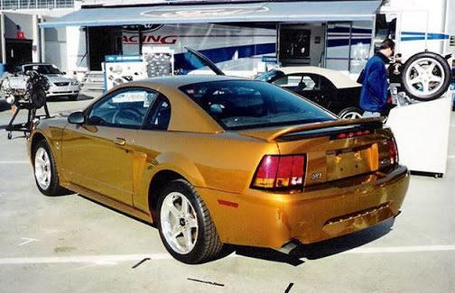 Ford SVT Exhibit — Preproduction 2000 Mystic Gold Cobra