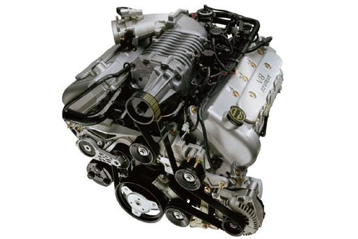 2003–2004 Ford SVT Mustang Cobra Engine