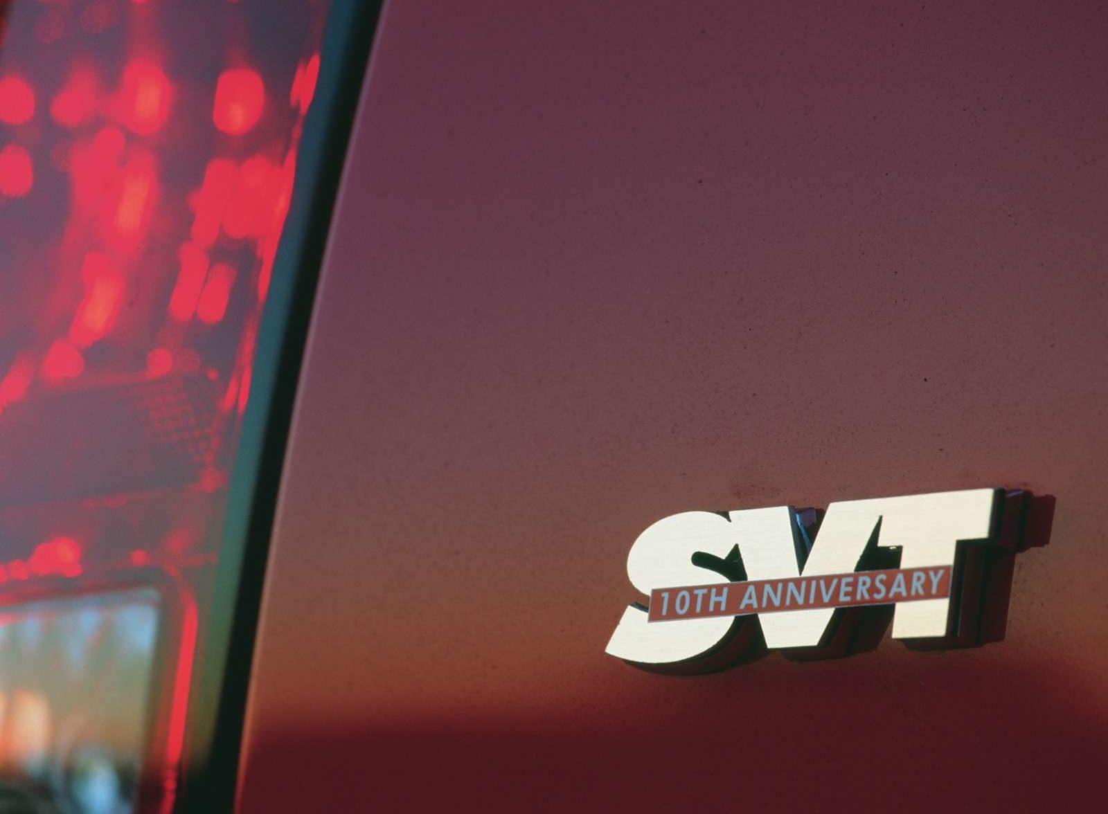 2003 1/2 Ford SVT Mustang Cobra 10th Anniversary Emblem